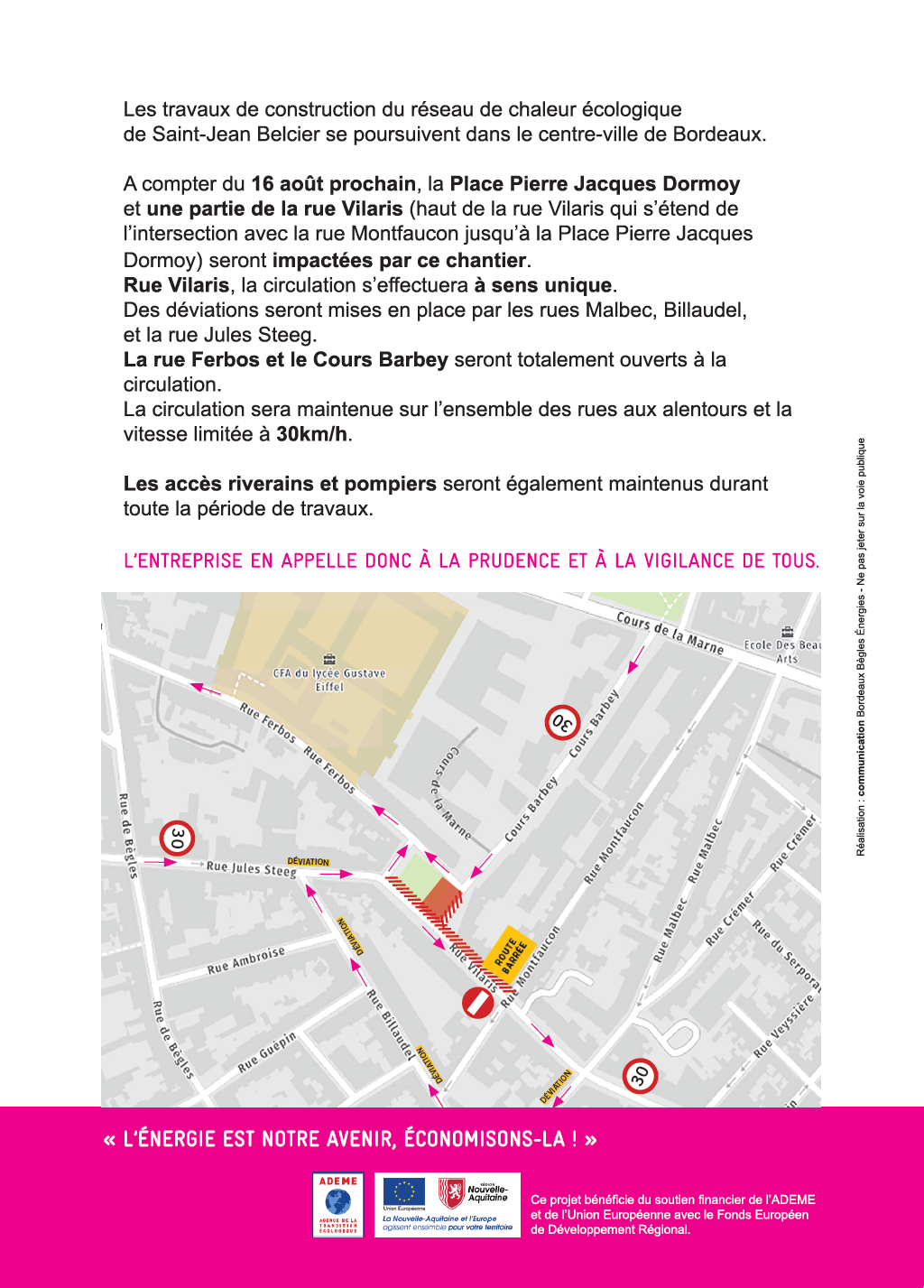 Flyer informations travaux VERSO - PHASE 2